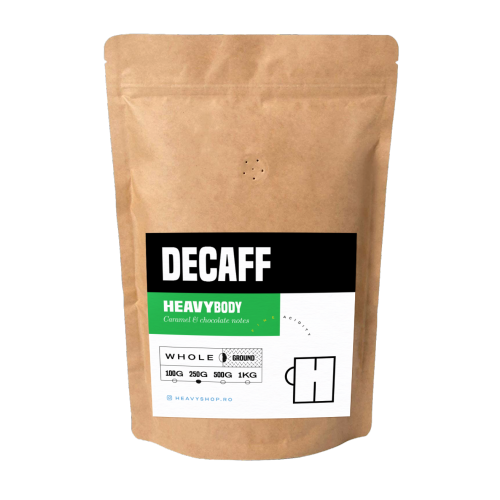 HEAVY CUP DECAFF fără cofeină 250 gr